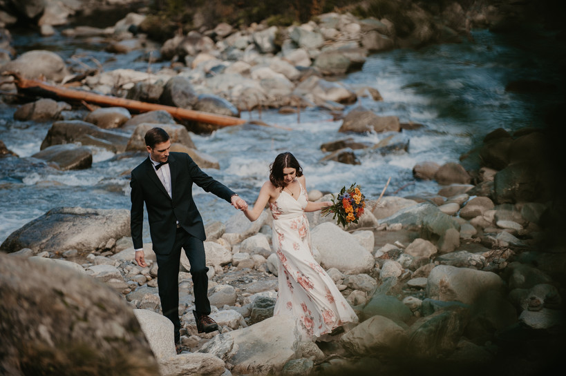 wedding photography in the alps
