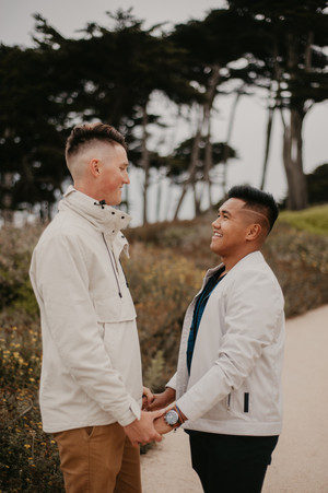 lands end san francisco engagement photography