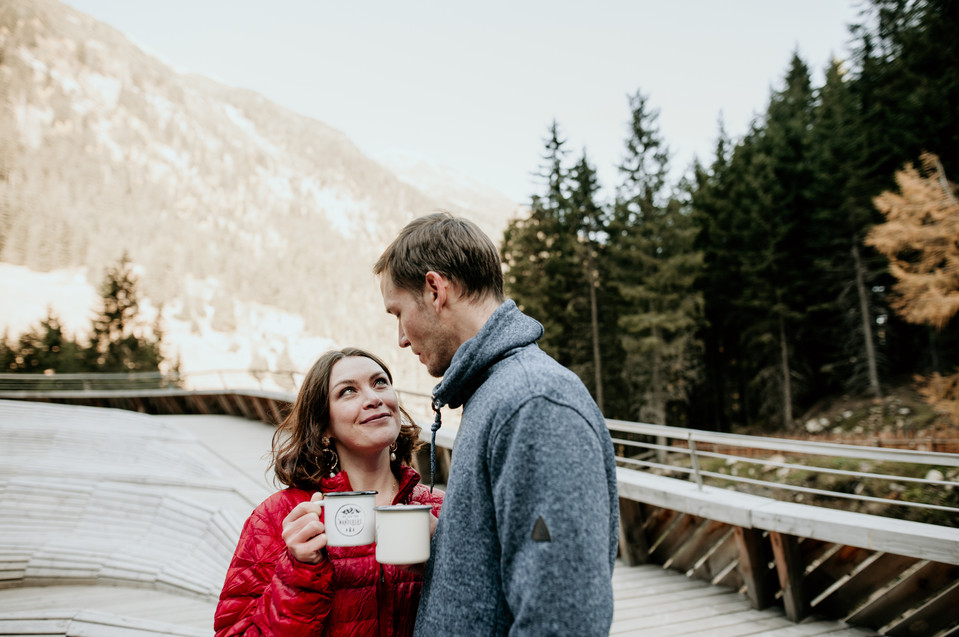 adventure elopement in the alps