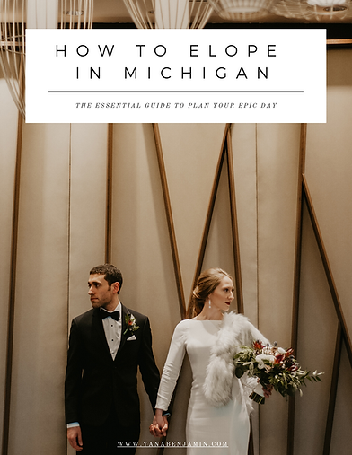 michigan elopement photography guide