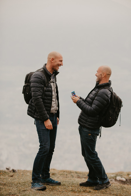 proposal in the mountains