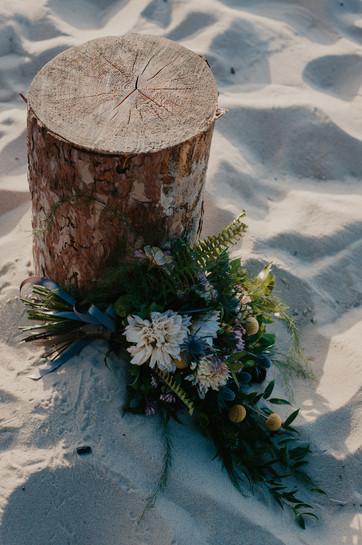 beach bouquet pictured rocks