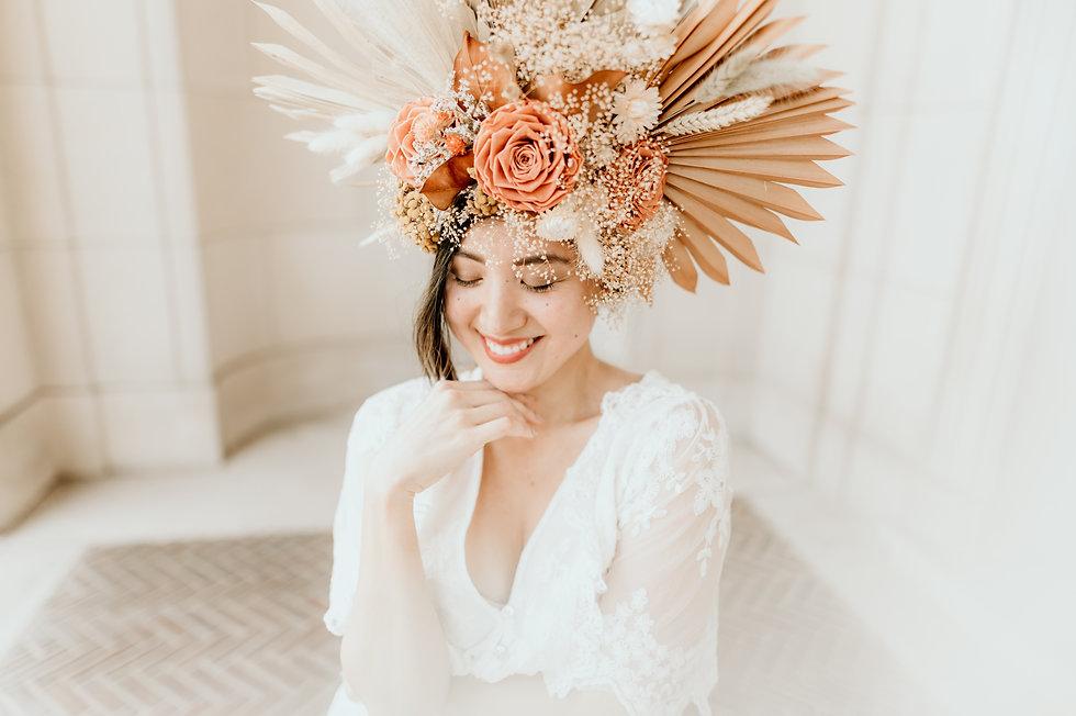 bohemian bride in michigan