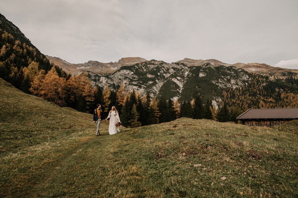 adventure wedding austrian alps