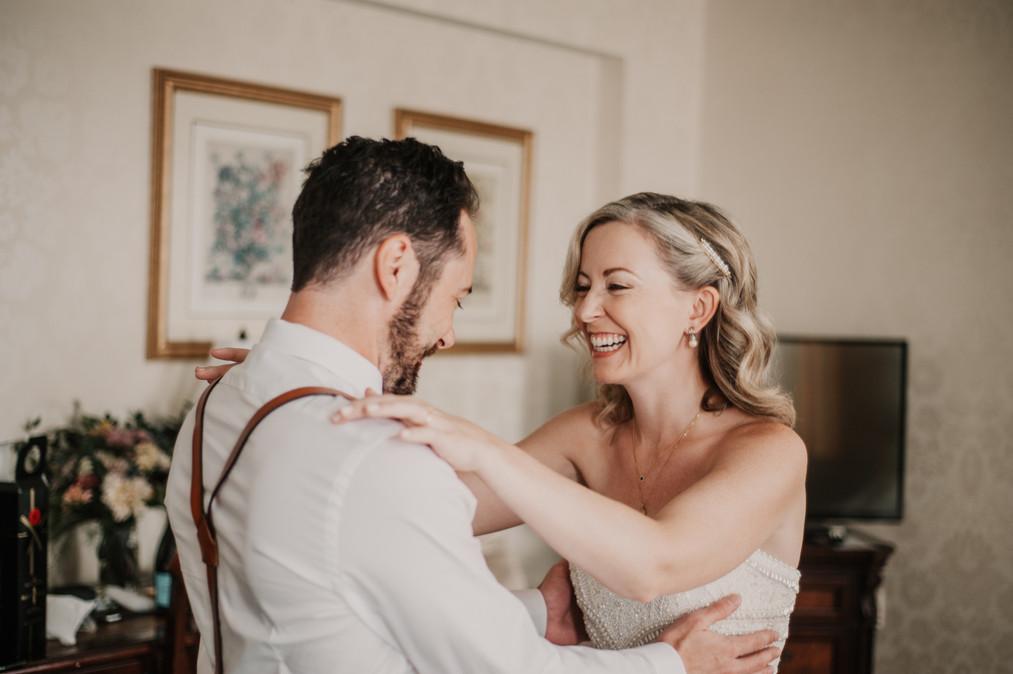 landmark inn elopement first look