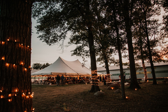 outdoors horse stable wedding