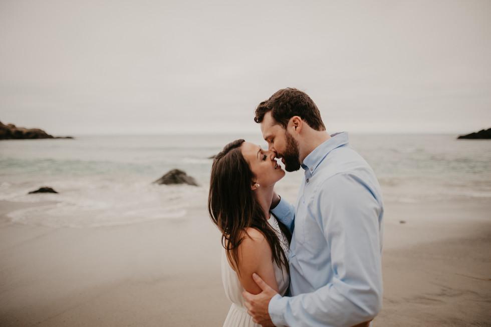 pfeiffer beach big sur engagement photographer