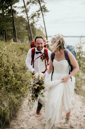 hiking elopement adventure