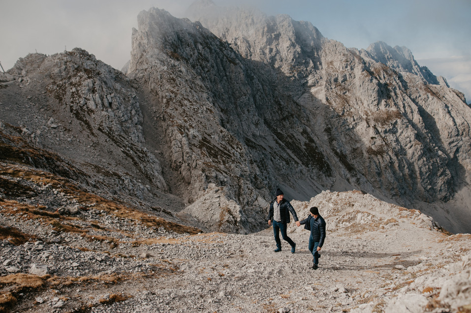 weddin in the alps