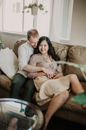 bohemian ann arbor engagement photography
