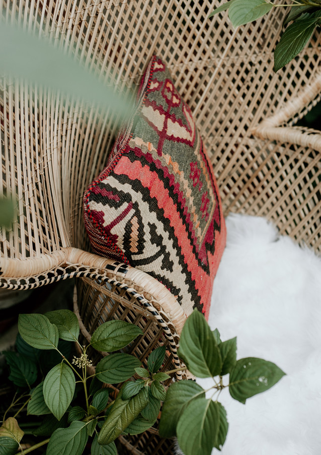 persian kilim pillows