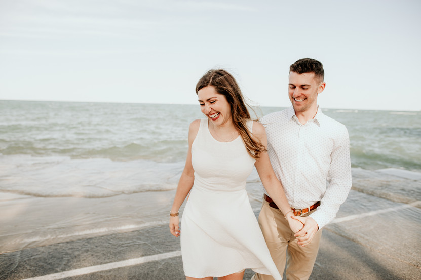 chicago beach elopement photographer