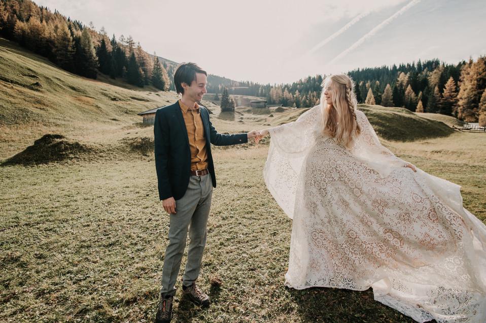 adventure elopement mountains