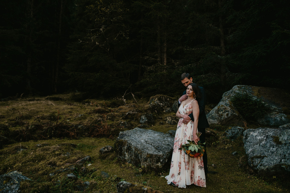 elopement in the alps