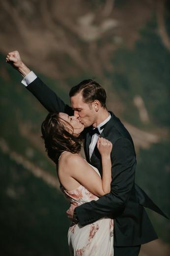 elopement in the alps