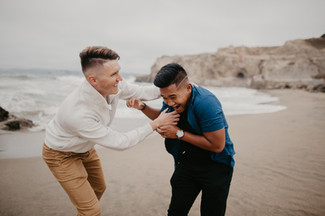 beach elopement photographer california