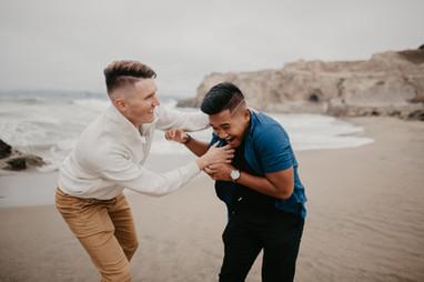 beach elopement photographer california