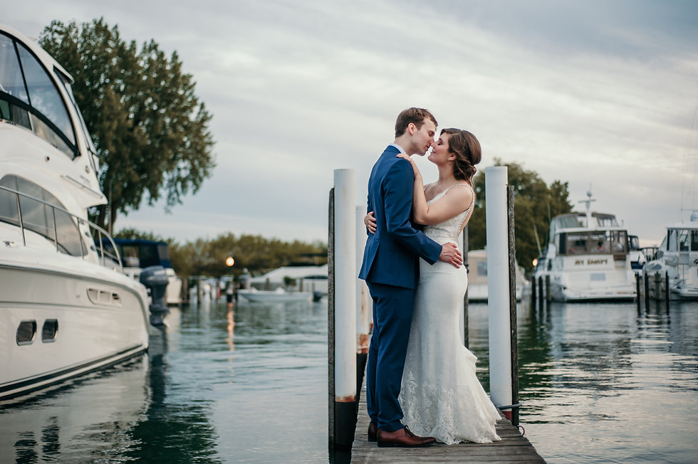detroit yacht club wedding michigan