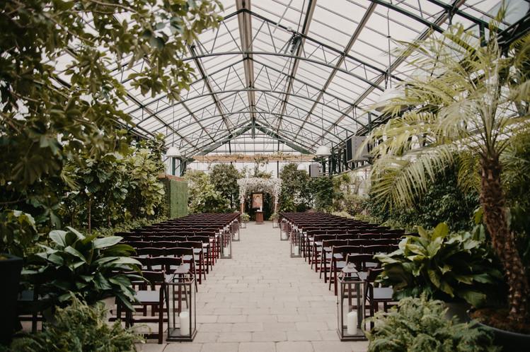 elegant planterra wedding
