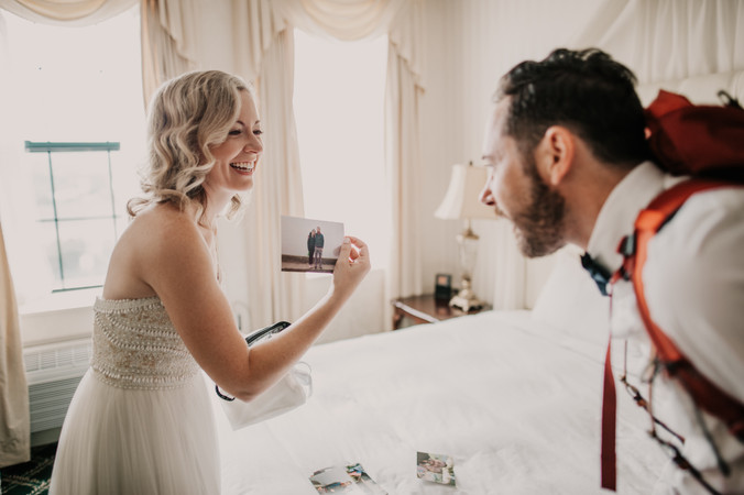 marquette michigan adventure elopement