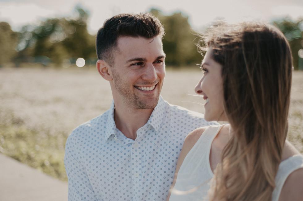 lake michigan engagement photographer