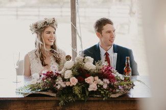 red riding hood horse stable wedding