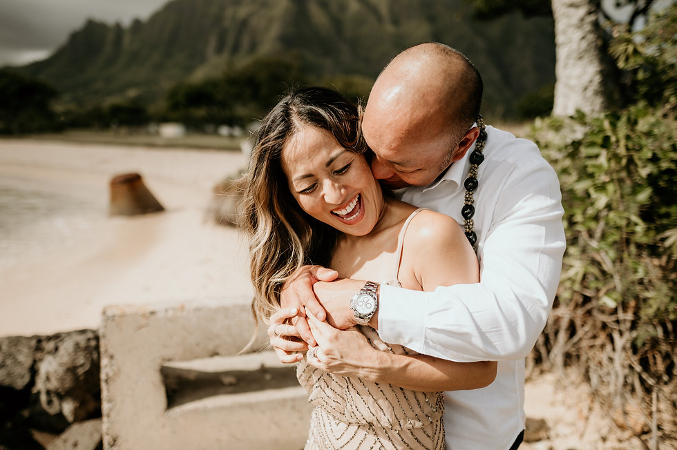 hawaii elopement kualoa ranch
