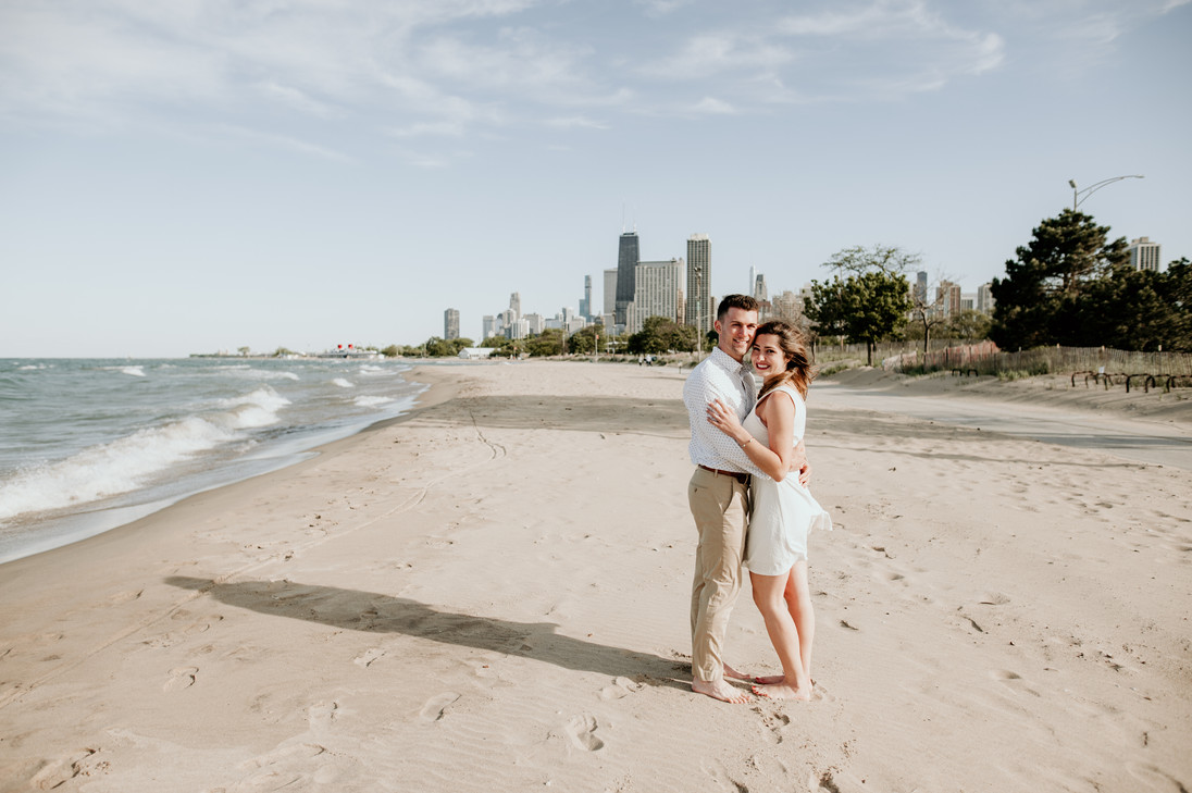 lake michigan elopement photographer