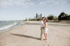 lake michigan elopement photographer