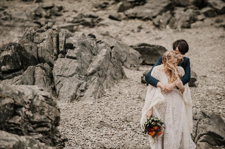 adventure elopement photographer ann arb