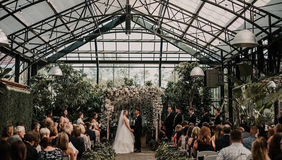 planterra conservatory wedding