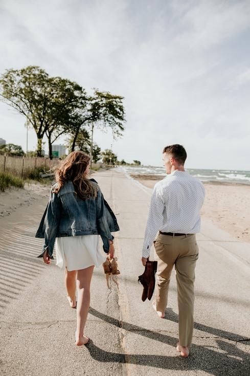 lake michigan wedding photographer