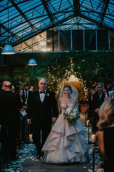 wedding at planterra conservatory in michigan