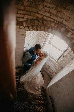 lighthouse wedding michigan