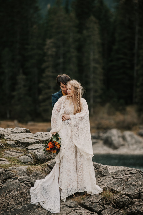 adventure wedding in alps