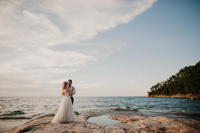 first dance upper peninsula elopement