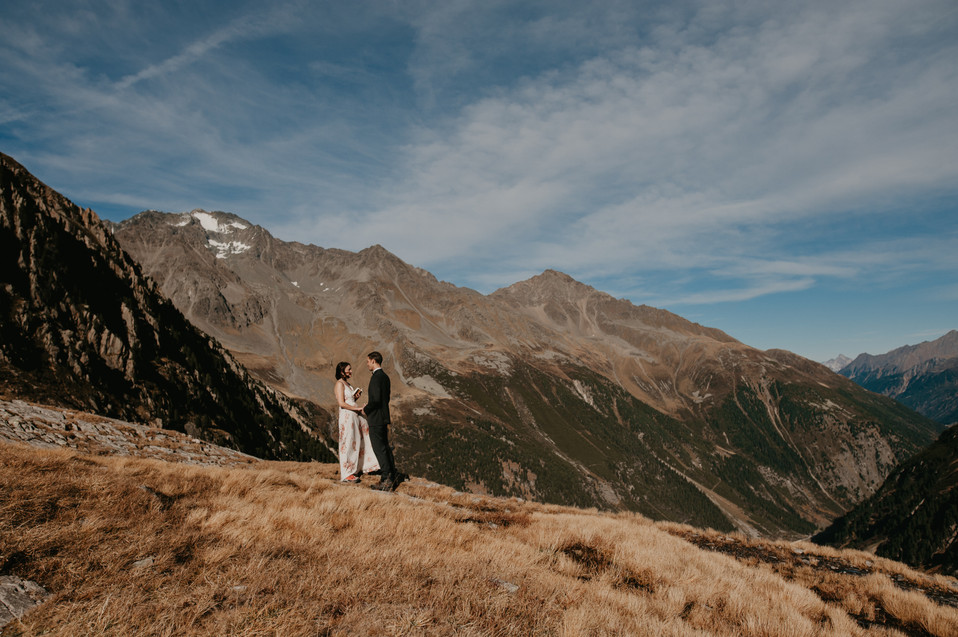 alpine elopement