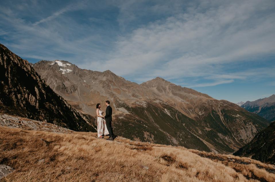 alpine elopement