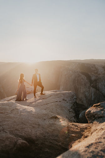 taft point yosemite elopement