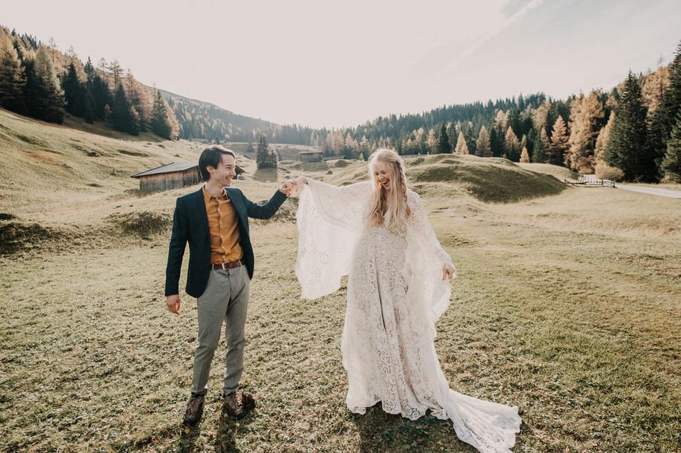 adventure wedding alps