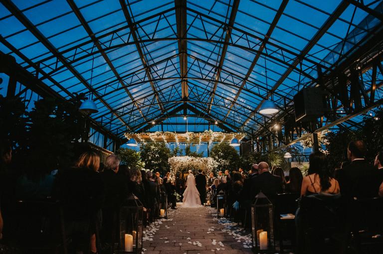 planterra conservatory wedding in west bloomfield, michigan