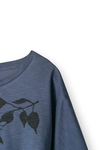 38172 - Birch Leaves Vintage Indigo