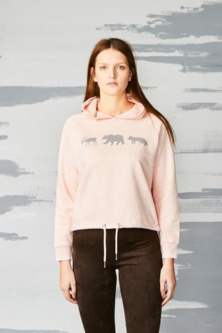 38060 - Animal Line Cream Heather Pink