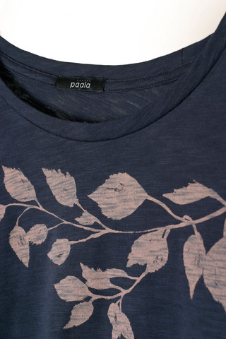 38171 - Birch Leaves Deep Navy