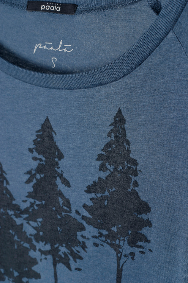 38282 Fall Forest Demin Blue
