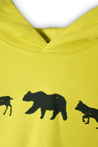 38061 - Animal Line Hay Yellow