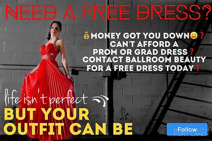 Ballroom Beauty Recycled Formal Wear Prom and Grad Assistance for Struggling Teens