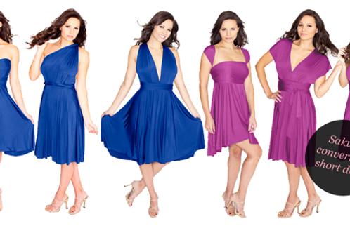 Henkaa Sakura Midi Convertible Dress