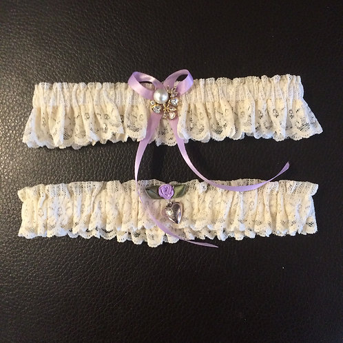 Garter Belt -Hand Made