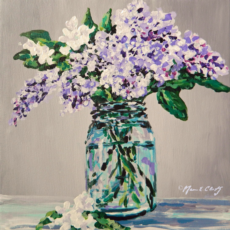Flower & Mason Jar 7